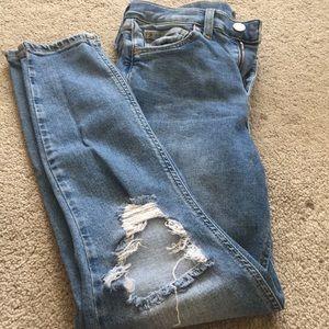Topshop Jamie Moto jeans